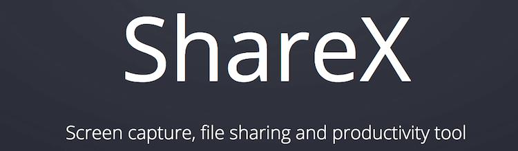 ShareXのイメージ