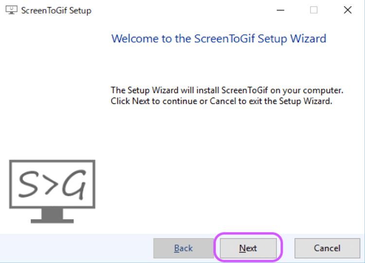 ScreenToGifのダウンロード方法2