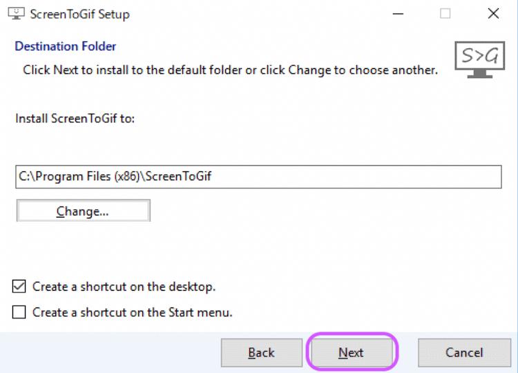 ScreenToGifのダウンロード方法3